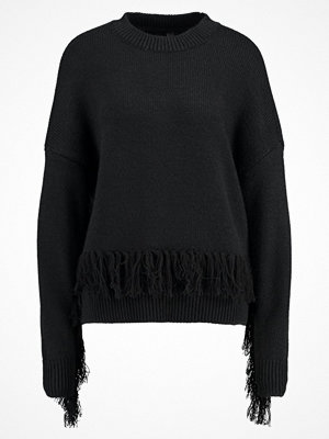 YAS YASFRINGE  Stickad tröja black