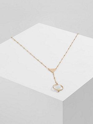 Topshop TRN TRI AND CIRCLE Halsband goldcoloured