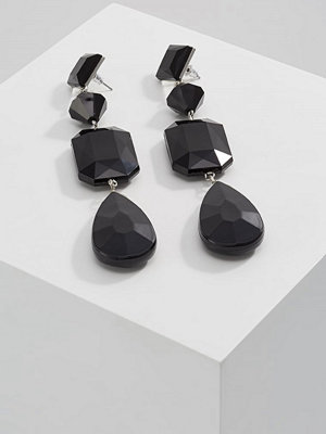 Topshop örhängen FACETED BEAD DROP  Örhänge black