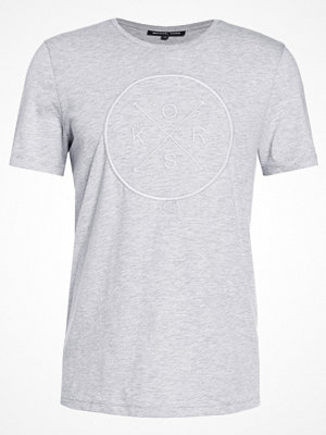 T-shirts - Michael Kors Tshirt med tryck heather grey