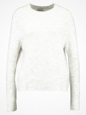 Only ONLCELESTINA  Stickad tröja light grey melange