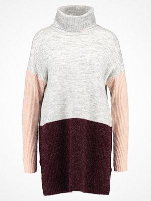 Vero Moda VMFORTUNA Stickad tröja zinfandel/rose cloud