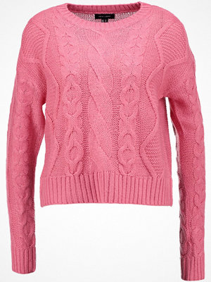 New Look FASHION LEAD IN Stickad tröja bright pink