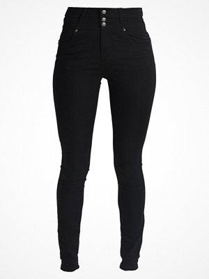 Vero Moda VMJULES BUTTON  Jeans Skinny Fit black