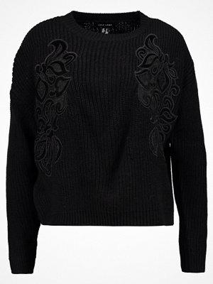 New Look PATCH Stickad tröja black