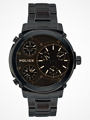 Klockor - Police TITAN Klocka black