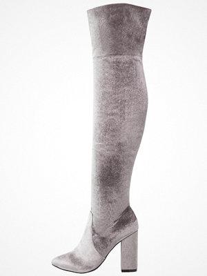 Bianco GLITTER Klassiska stövletter grey