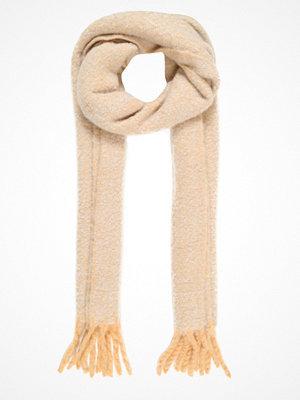 Halsdukar & scarves - Topshop POP BRUSH STRIPE   Halsduk camel