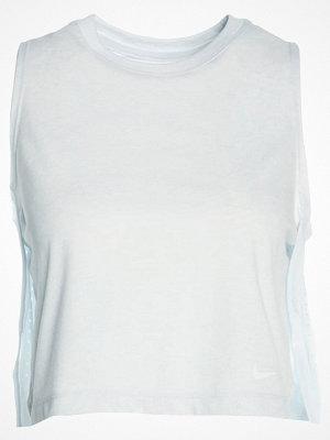 Sportkläder - Nike Performance Funktionströja pure platinum/heather white