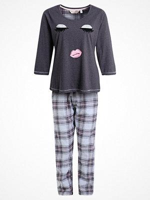 Pyjamas & myskläder - Dorothy Perkins GLITTER EYES SET Pyjamas charcoal