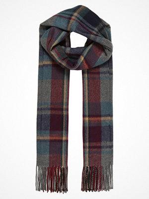 Halsdukar & scarves - Topshop GRID CHECK Halsduk charcoal