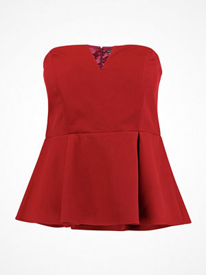 City Chic DEEP Blus red