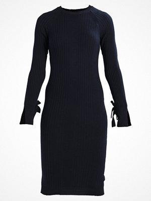 Dorothy Perkins TIE SLEEVE BODYCON Stickad klänning dark navy