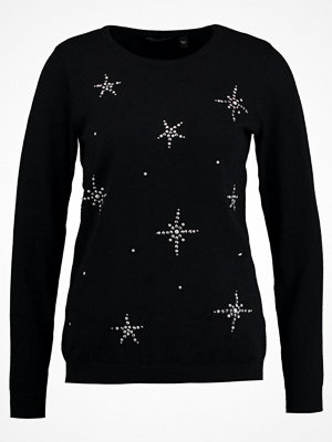 Dorothy Perkins HOTFIX SNOWFLAKE  Stickad tröja black