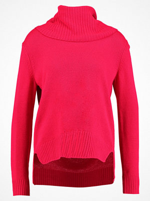 Benetton TURTLE NECK Stickad tröja red
