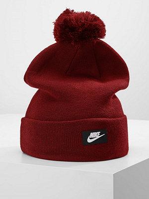 Mössor - Nike Sportswear BEANIE  Mössa team red/white