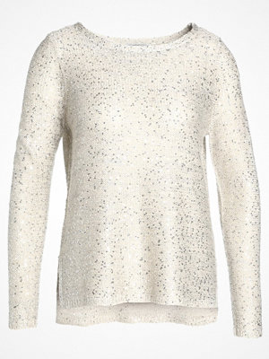 Only ONLADELE SEQUINS Stickad tröja pumice stone/matching sequins