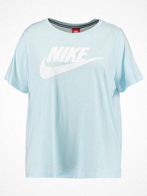 Nike Sportswear ESSENTIAL Tshirt med tryck glacier blue/white