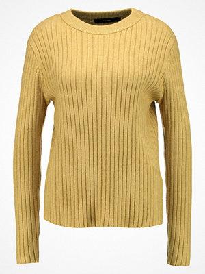 Vero Moda VMAVA SVEA Stickad tröja harvest gold