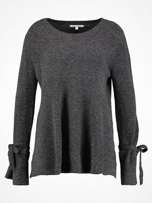 Tom Tailor Denim BOW CREW NECK Stickad tröja grey melange