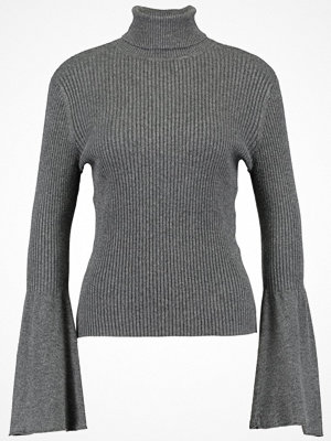 Only ONLALMA BELL SLEEVE  Stickad tröja dark grey melange