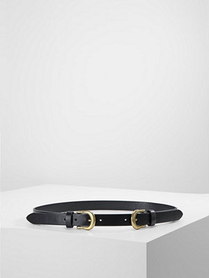 Bälten & skärp - Only ONLLAURINE DOUBLE BELT Skärp black