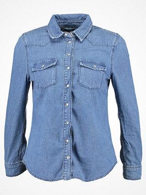 Topshop Petite GIGI Skjorta blue denim