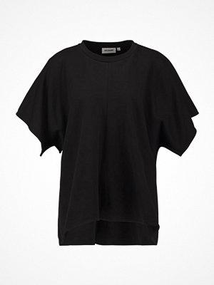 Weekday FRESCO Tshirt med tryck black