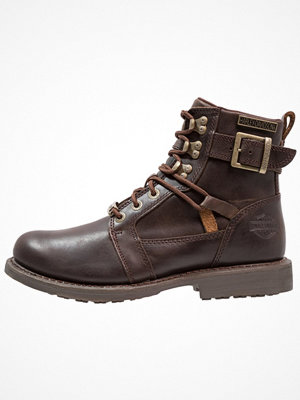 Boots & kängor - Harley Davidson HARRISON  Cowboy / Bikerstövletter brown