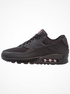 Nike Sportswear AIR MAX 90 ESSENTIAL Sneakers black/metallic silver/university red