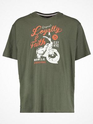 Loyalty & Faith B&T SMITHERS Tshirt med tryck khaki