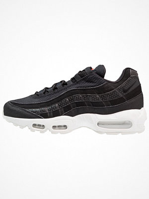 Nike Sportswear AIR MAX 95 PREMIUM SE Sneakers black/white/team orange