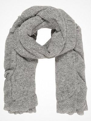 Halsdukar & scarves - Only ONLTYLOR FLOUNCE SCARF  Halsduk light grey melange