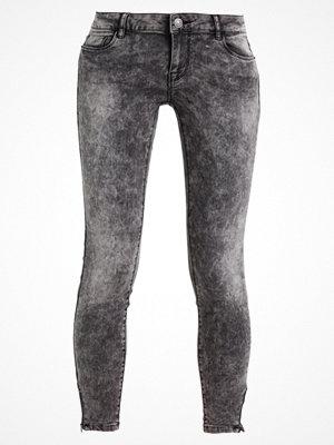 Vero Moda VMFIVE ZIPPER ANKLE  Jeans Skinny Fit dark grey