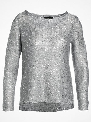 Only ONLADELE SEQUINS Stickad tröja medium grey melange