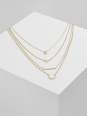 Only Halsband gold coloured