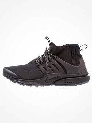 Nike Sportswear AIR PRESTO MID UTILITY Höga sneakers black/dark grey