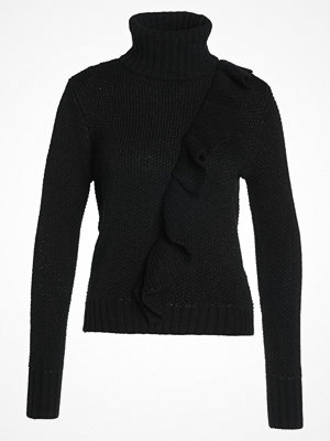 Only ONLNATALI  Stickad tröja black/black glitter
