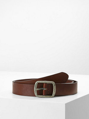 Bälten & skärp - Only ONLBEACH BELT Skärp brown stone