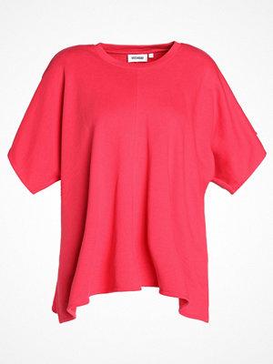 Weekday FRESCO Tshirt med tryck pink yellowish red