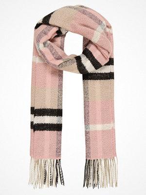 Halsdukar & scarves - Topshop CHECK SCARFS  Halsduk cream