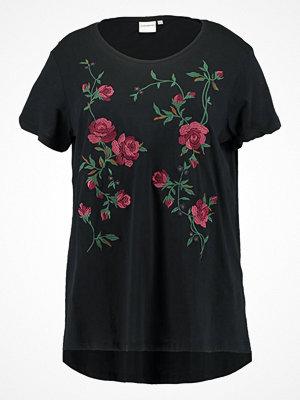 Junarose JRROSY Tshirt med tryck black beauty