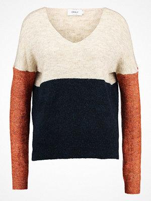 Only ONLJANA BLOCK  Stickad tröja pumice stone