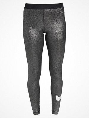 Nike Performance PRO SPARKLE Tights black/metallic silver