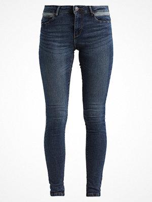 Vero Moda VMSEVEN CONTRAST Jeans Skinny Fit dark blue denim
