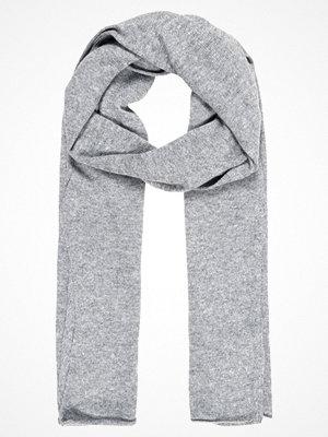 Halsdukar & scarves - Only ONLNAUTICAL LONG SCARF Halsduk light grey melange
