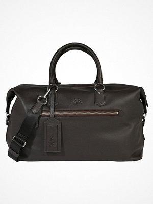 Polo Ralph Lauren PEBBLE DUFFEL Weekendbag dark brown