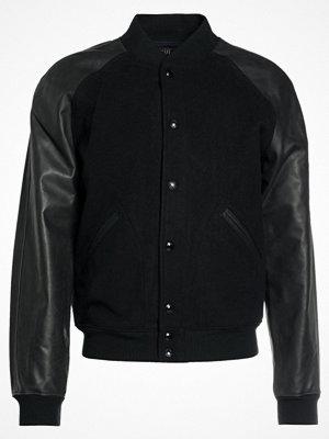 Polo Ralph Lauren MELTON MODERN VARSITY Bomberjacka black
