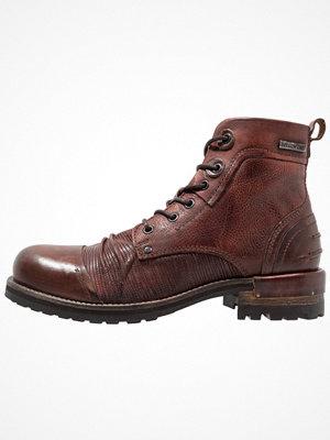 Boots & kängor - Yellow Cab TEAR Snörstövletter bordeaux
