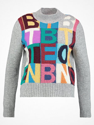 Benetton Stickad tröja light gray
